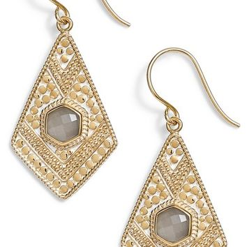 Anna Beck Grey Moonstone Kite Drop Earrings | Nordstrom