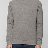 Classic Wash French Terry Pullover Sweatshirt- Charcoal L