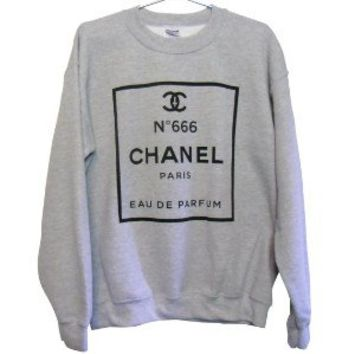 CHANEL No. 666 Sweatshirt (Select Size)
