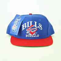 vintage 90s BUFFALO BILLS snapback hat