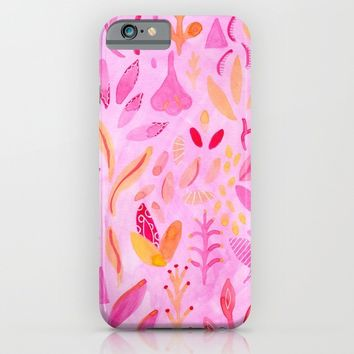 Flora iPhone & iPod Case by Messy Bed Studio