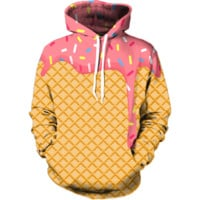 Ice Cream Dripping Hoodie