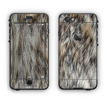 The Furry Animal  Apple iPhone 6 LifeProof Nuud Case Skin Set