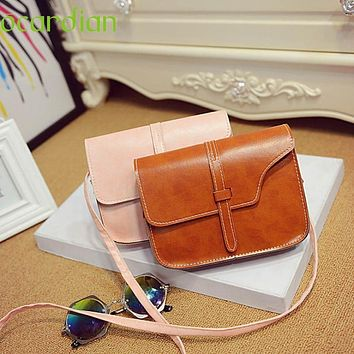 Shoulder Bag Attractive Women Girl  Faux Leather Satchel Crossbody Tote Handbag Hot sale