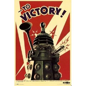 Sale! Dalek To Victory Poster 24inx36in Dr Who