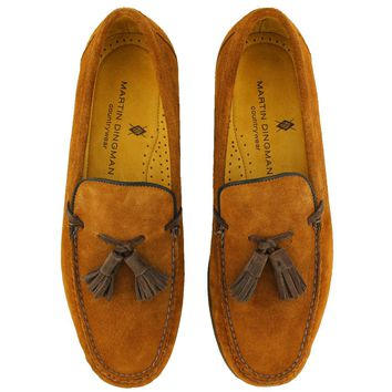 Porter Loafer in Snuff Brown by Martin Dingman - FINAL SALE