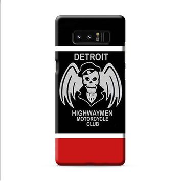 DETROIT HIGHWAYMEN MOTORCYCLE CLUB Samsung Galaxy Note 8 case