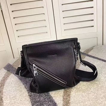 PRADA MEN'S FASHION CASUAL LEATHER CROSS BODY BAG