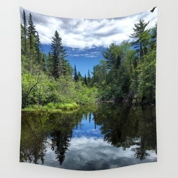 Idaho Reflections Wall Tapestry by Lindsey Jennings Photography