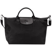 Handbag - Le Pliage Néo - Handbags - Longchamp - Black - Longchamp United-States