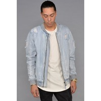Pilot Denim Bomber Jacket