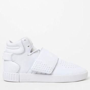 LMFON adidas Tubular Invader Strap White Shoes at PacSun.com
