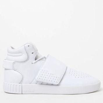 LMFONS adidas Tubular Invader Strap White Shoes at PacSun.com
