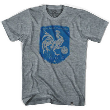 France Rooster Shield Soccer T-shirt