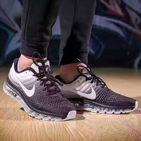 """NIKE"" Trending Fashion Air  of screen couple Casual Sports Shoes brown"