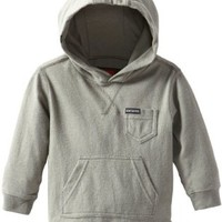 Quiksilver Baby Boys' Snit Hooded Sweatshirt, Charcoal, 24 Months