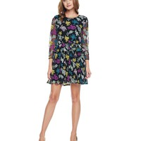 Jewelled Roses Embroidered Mesh Flirty Dress by Juicy Couture