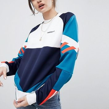 adidas Originals Nova Colourblock Sweatshirt at asos.com