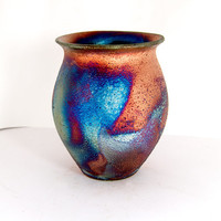 Raku 'Lambak Langit' Pottery Utensil Holder