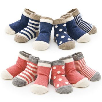 Baby Socks 4 pairs/ 90% toddler floor