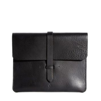 Chloe Stanyon Leather Clutch Bag in Black