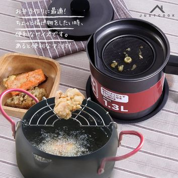 Creative Japanese Tempura Fryer & Oil Container