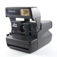 Vintage Polaroid Camera One Step Retro Hipster Instant Photo 600 Film