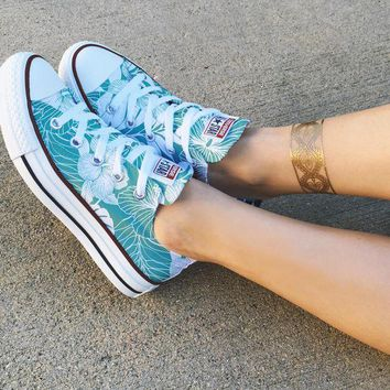 ESBONB Locals Only Converse Low Top