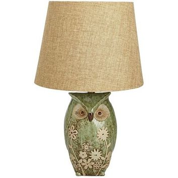 Daisy Owl Accent Lamp