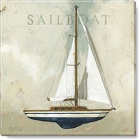 Gallery Wrap on Wood Frame ~ Sailboat