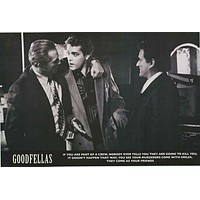 Goodfellas Quote Movie Poster 24x36
