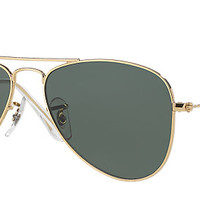 Ray-Ban RB9506S 223/71 50-13 AVIATOR JUNIOR Gold sunglasses | Official Online Store US