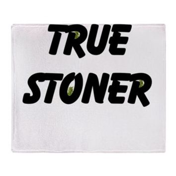 TRUE STONER Throw Blanket> TRUE STONER> 420 Gear Stop