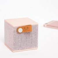Fresh N Rebel Rockbox Cube Wireless Speaker In Pink at asos.com