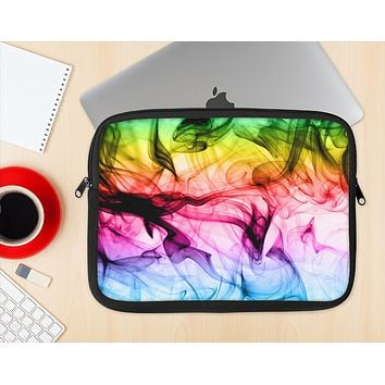 The Neon Glowing Fumes Ink-Fuzed NeoPrene MacBook Laptop Sleeve