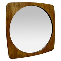 Wood Wall Mirror - Threshold™