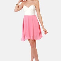 Juniors Strapless Dresses - Strapless Cocktail Dress | Lulus.com - Page 4