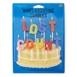 FOREVER 21 Lost Count Birthday Candles Blue/Yellow One