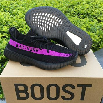 Adidas Yeezy 350 Boost V2 Black Purple 40---46