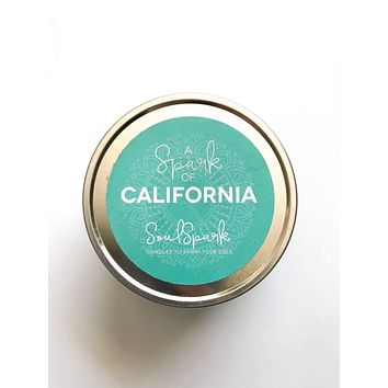 A Spark of California Candle