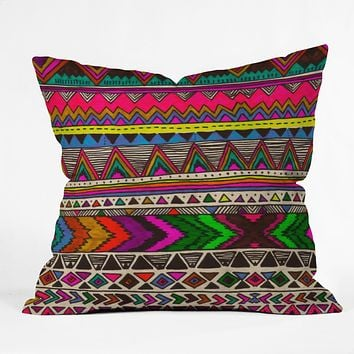 Kris Tate Poncho Throw Pillow