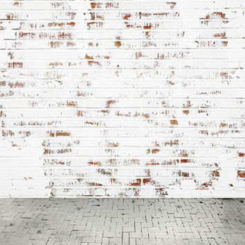 150CM*200CM backgrounds Whitewashed brick walls of the old photography backdrops photo LK 1419