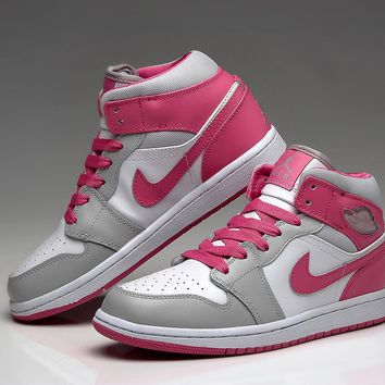 Nike Air Jordan Retro 1 High Tops Contrast Sports shoes