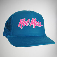 'Hot Mess' Trucker Hat