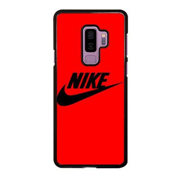 ELEGANT NIKE RED Samsung Galaxy S9 Plus  Case