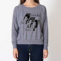 Smoke like Rogen --- Women / Sweater / American Apparel / Athletic Grey / Seth Rogen
