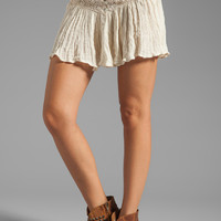 Jen's Pirate Booty Asteria Corset Mini Skirt in Natural from REVOLVEclothing.com