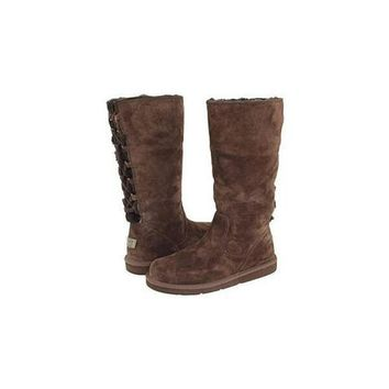 Uggs Boots Black Friday Sale Roseberry Tall 5734 Chocolate For Women 125 56