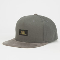 Vans Prater Starter Mens Snapback Hat Grey One Size For Men 26568711501