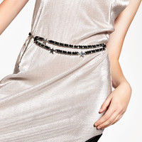 STARS CHAIN BELT - NEW IN-WOMAN | ZARA United Kingdom